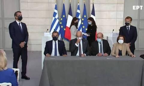 Греция и Франция подписали соглашение о сотрудничестве в оборонной сфере