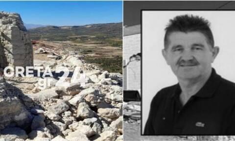 Σεισμός Κρήτη: Σήμερα το τελευταίο αντίο στον 62χρονο Ιάκωβο που καταπλακώθηκε από την εκκλησία