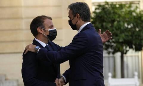 Франция поставит Греции три фрегата, соответствующий договор подписан в Елисейском Дворце