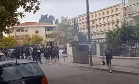 Μαρτυρία-σοκ για τα επεισόδια έξω από το ΕΠΑΛ στη Θεσσαλονίκη: Βγήκαν από το σχολείο και μαχαίρωναν