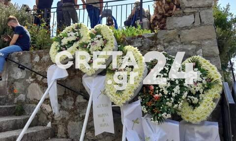 Σεισμός Κρήτη: Θρήνος στην κηδεία του 62χρονου που έχασε τη ζωή του στο Αρκαλοχώρι