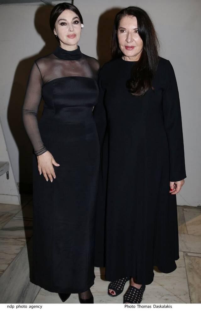 Η Μόνικα Μπελούτσι με τη Μαρίνα Αμπράμοβιτς