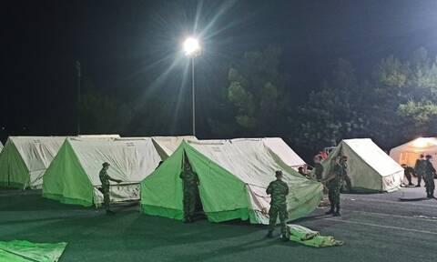 Ένοπλες Δυνάμεις: Όπου υπάρχει ανάγκη! Πολύτιμη βοήθεια του ΓΕΕΘΑ στους σεισμόπληκτους της Κρήτης
