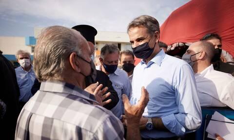 Μητσοτάκης Κρήτη σεισμός μέτρα στήριξης
