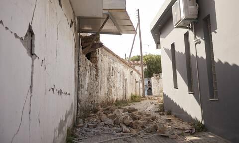 ΣΥΡΙΖΑ Μητσοτάκης σεισμόπληκτοι Κρήτη
