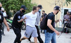 Νέο βίντεο-ντοκουμέντο από τη σύλληψη του ληστή της τράπεζας στη Μητροπόλεως