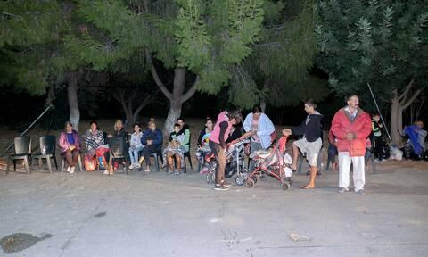 Σεισμός στην Κρήτη: Ένα ακόμα δύσκολο βράδυ στο Αρκαλοχώρι – Αγωνία για τους μετασεισμούς