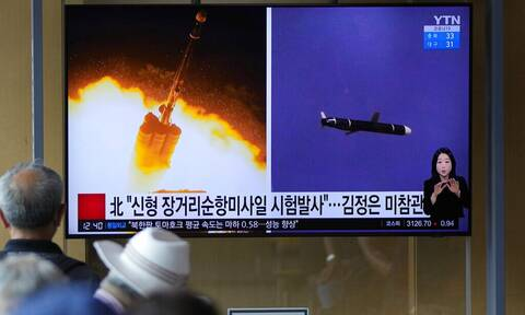 Αυξάνει την ένταση η Βόρεια Κορέα - Eκτόξευσε υπερηχητικό πύραυλο