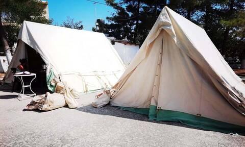 Σεισμός στην Κρήτη: Σήμερα αναμένεται να μπουν ράντζα στις σκηνές των σεισμόπληκτων
