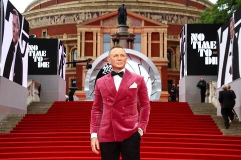 Τζέιμς Μποντ - No Time to Die: 15+1 κλικ από την παγκόσμια πρεμιέρα στο Λονδίνο