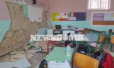 Σεισμός Κρήτη: Γκρεμίστηκαν σχολεία - Στο «κόκκινο» η αγωνία μαθητών και γονιών