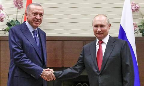 Συνάντηση Πούτιν – Ερντογάν: Συρία, S-400, πυρηνικό εργοστάσιο και οικονομία στο επίκεντρο
