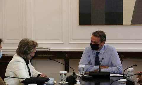 Κυριάκος Μητσοτάκης: Έχουμε ευρωπαϊκή «δύναμη πυρός» για τον μετασχηματισμό της ελληνικής οικονομίας