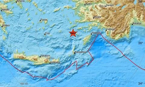 Σεισμός κοντά σε Τήλο και Νίσυρο - Αισθητός στα Δωδεκάνησα (pics)