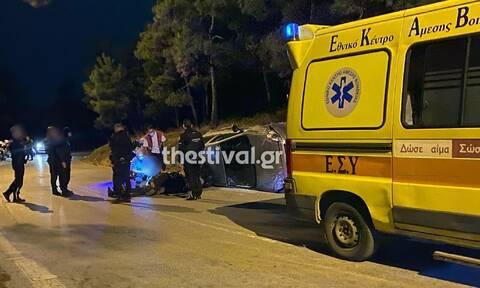 Θεσσαλονίκη: Άγρια καταδίωξη λαθροδιακινητών στον Περιφερειακό με δύο τραυματίες