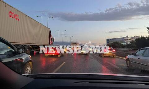 Κίνηση ΤΩΡΑ: Μποτιλιάρισμα στον Κηφισό το πρωί της Πέμπτης - Ποιους δρόμους να αποφύγετε