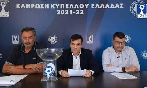 Κύπελλο Ελλάδας: Τα ζευγάρια της Δ' Φάσης