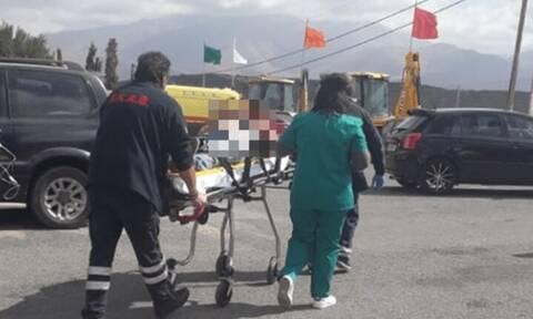 Σεισμός στην Κρήτη: Τραυματίστηκε εθελοντής στο Αρκαλοχώρι