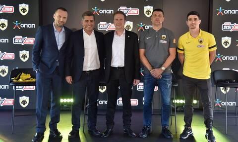 ΟΠΑΠ και ΠΑΕ ΑΕΚ συνεχίζουν μαζί για έβδομη συνεχή σεζόν