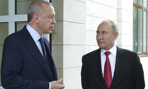 Ερντογάν: Συζητήσαμε με Πούτιν για την κατασκευή δυο πυρηνικών εργοστασίων