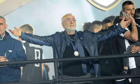ΠΑΟΚ-Σλόβαν Μπρατισλάβας: Το μήνυμα του Ιβάν Σαββίδη για την αποψινή αναμέτρηση