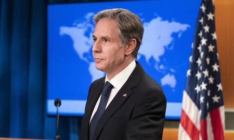 Ο Αμερικανός υπουργός Εξωτερικών, Άντονι Μπλίνκεν