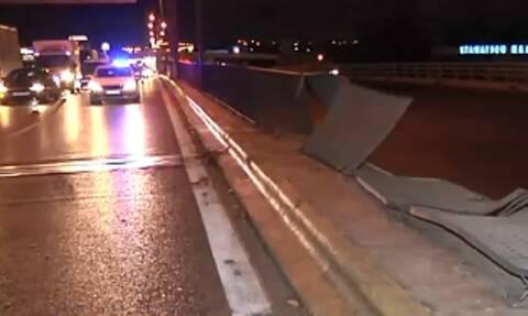 Πώς έγινε το τροχαίο-σοκ στον Κηφισό: Το αυτοκίνητο... απογειώθηκε και πέρασε στο αντίθετο ρεύμα