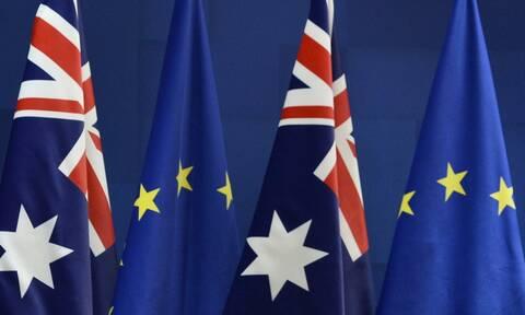 AUKUS: Στον «πάγο» οι διαπραγματεύσεις ΕΕ-Αυστραλίας για τη σύναψη συμφωνίας ελεύθερου εμπορίου