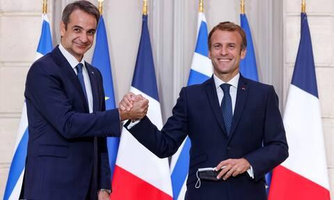 ΕΕ: Η συμμαχία Ελλάδας-Γαλλίας συμβάλλει στην ευρωατλαντική ασφάλεια