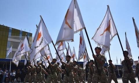 Κύπρος: Στρατιωτική παρέλαση για την 61η επέτειο ανακήρυξης Κυπριακής Δημοκρατίας (vid)