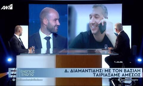 Η αποκάλυψη του Σπανούλη και η ευχή του Διαμαντίδη - Όσα είπαν Μητσοτάκης, Τσίπρας (videos)