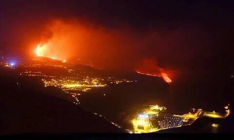 Λα Πάλμα: Ποτάμι λάβας ρέει και πάλι από το ηφαίστειο - Διπλάσια από το 1971 η ποσότητα μάγματος