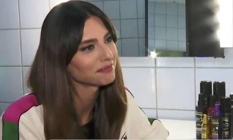 Ηλιάνα Παπαγεωργίου: Δάκρυσε μπροστά στην κάμερα - Τι είπε για τα κιλά της (video)