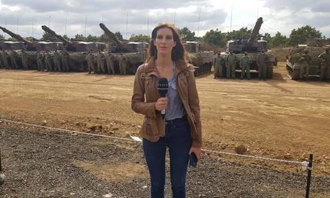 Γεωργία Γαραντζιώτη: Μια γυναίκα στα… άρματα! Η ρεπόρτερ που δεν φοβάται τις προκλήσεις