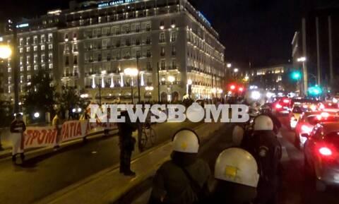Εφαρμόστηκε ο νόμος για τις πορείες στο πανεκπαιδευτικό συλλαλητήριο