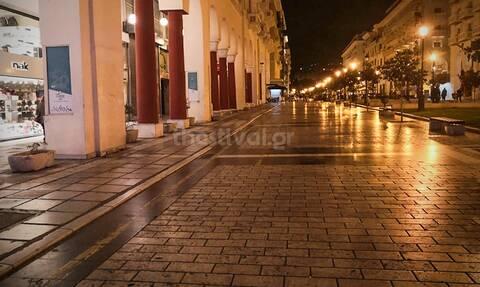 Θύμισε Νοέμβριο του 2020 η Θεσσαλονίκη - Κλειστά μαγαζιά και άδειοι δρόμοι μετά το μίνι lockdown
