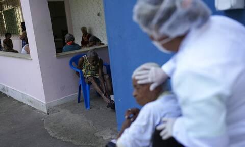Κορονοϊός - Βραζιλία: 468 νέοι θάνατοι και επιπλέον 13.466 κρούσματα τις προηγούμενες 24 ώρες