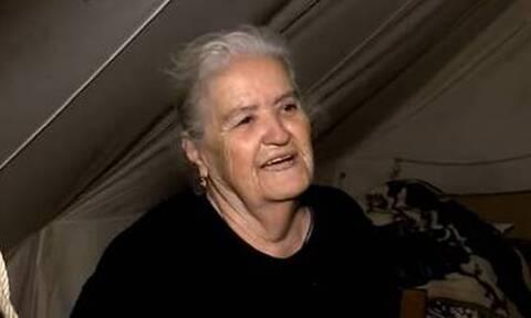 Σεισμός στην Κρήτη: Μεγαλείο ψυχής και μαθήματα ζωής από άστεγη ηλικιωμένη