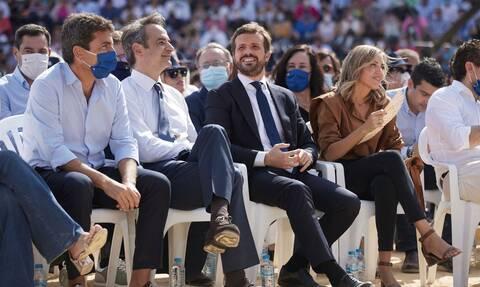 Θερμή υποδοχή του Κ. Μητσοτάκη στην Ισπανία - Κασάδο: Έχεις την εκτίμηση όλων μας