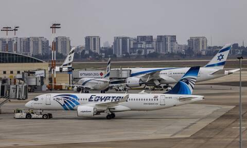 Πρώτη φορά μετά από δεκαετίες, πτήση της EgyptAir προσγειώνεται στο Τελ Αβίβ – Εντυπωσιακή υποδοχή