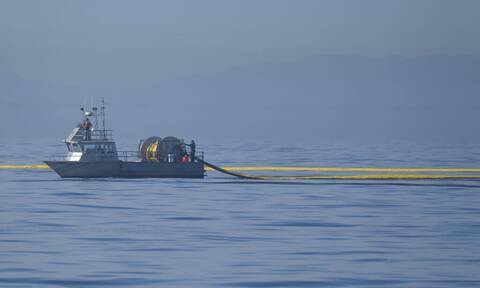 Πετρελαιοκηλίδα στις ακτές της Καλιφόρνιας