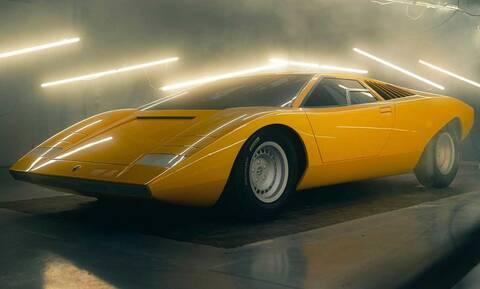 Η Lamborghini αναβίωσε την πρωτότυπη Countach LP500 του 1971