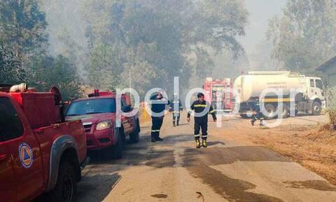 Πάτρα: Από τι προήλθε η φωτιά στο στρατιωτικό αεροδρόμιο του Αράξου