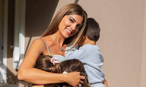 Σταματίνα Τσιμτσιλή: Δείτε πόσο μεγάλωσε ο γιος της