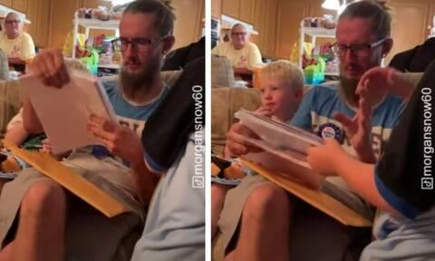Ένα 6χρονο αγόρι ζήτησε να το υιοθετήσουν - Η αντίδραση του θετού πατέρα