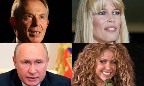 Pandora Papers: Πούτιν, Σακίρα και Κλόντια Σίφερ - Όλος ο κατάλογος που βάζει «φωτιά» στους ισχυρούς