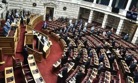 Βουλή: Με αγιασμό ξεκίνησαν οι εργασίες της Γ' Συνόδου