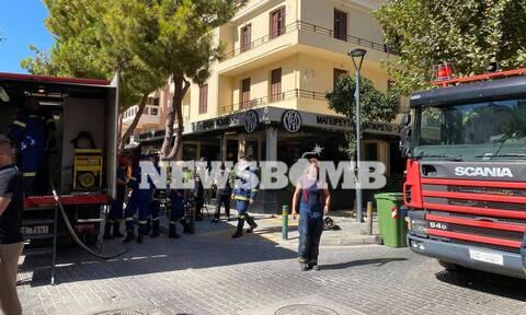 Ρεπορτάζ Newsbomb.gr: Φωτιά σε εστιατόριο στο Παλαιό Φάληρο