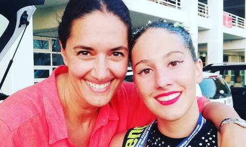 Νόνη Δούνια: Με την καλλιτεχνική κολύμβηση ασχολείται η κόρη της -Δείτε φώτο