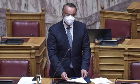 Βουλή: Κατατέθηκε από τον Σταϊκούρα το προσχέδιο του προϋπολογισμού 2022